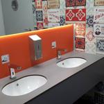 Moduł WC, wnętrze