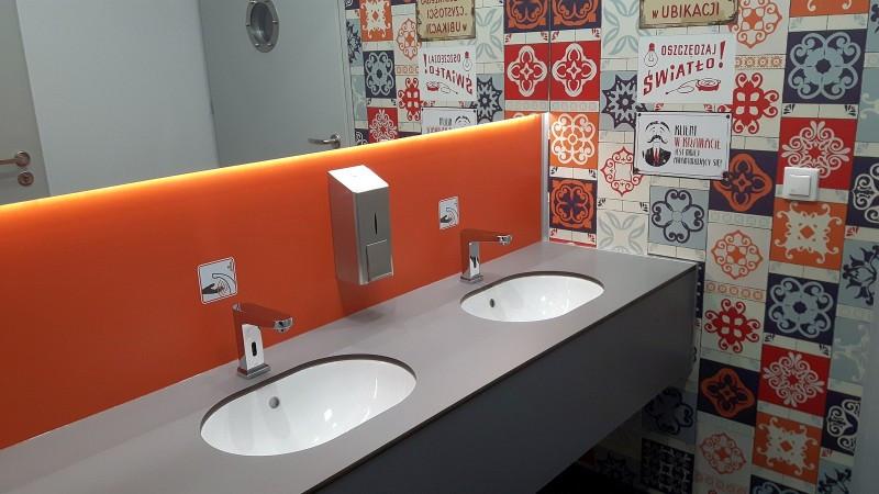 Toaleta modułowa | Wnętrze