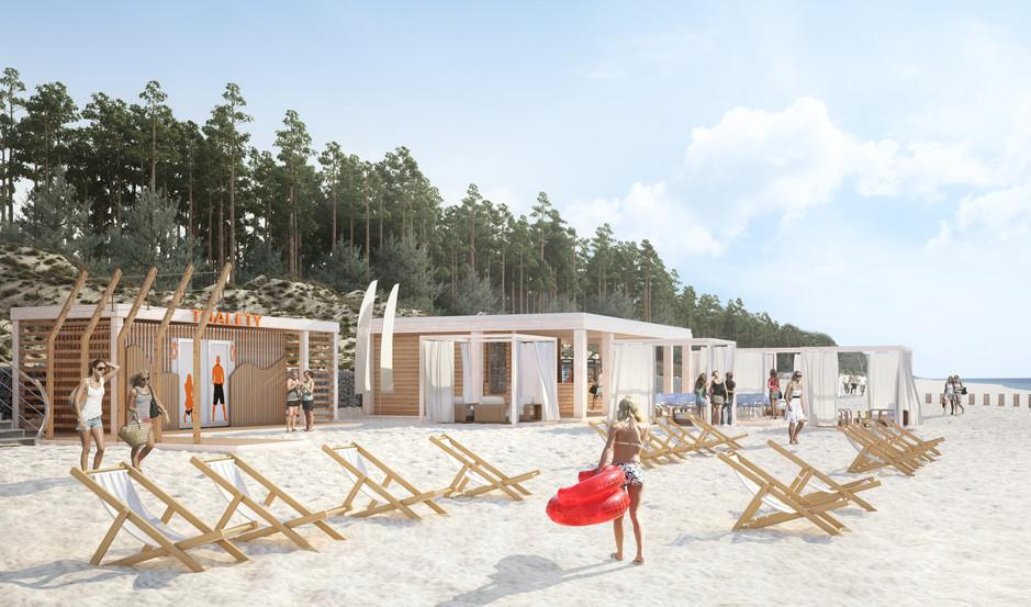 Toalety modułowe | Plaża
