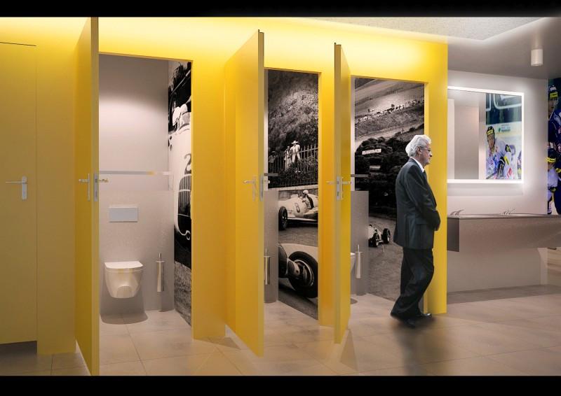 Toaleta, Brno