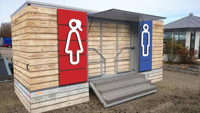 Toaleta mobilna | Drewno
