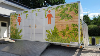 Toaleta mobilna | Pnącza