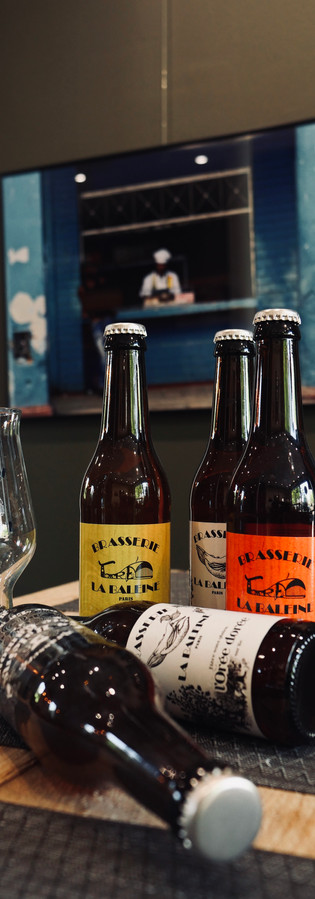 Bières artisanales La Baleine