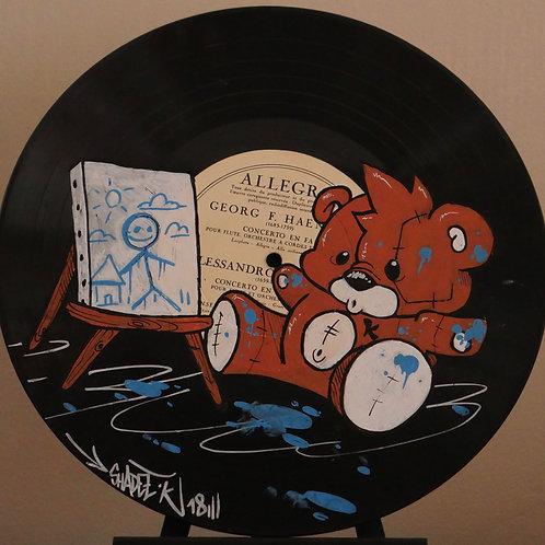 Vinyle 33 tours customisé SHADEE K