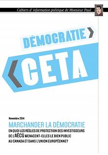 MERHANDISER LA DEMOCRATIE
