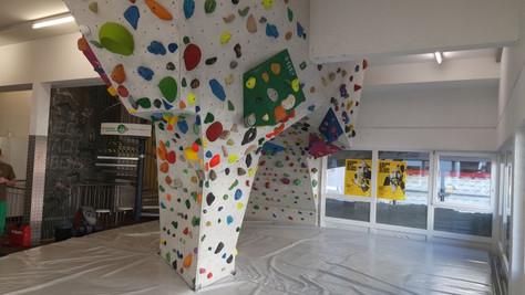 Alpenverein Boulderhalle Bludenz