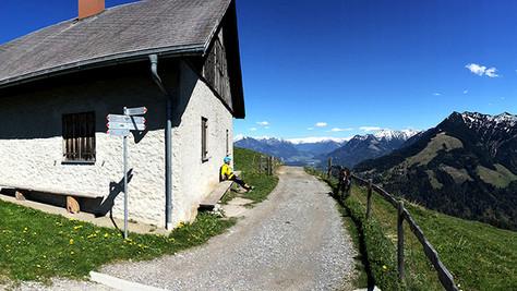 Feldkircher Hütte 1205m