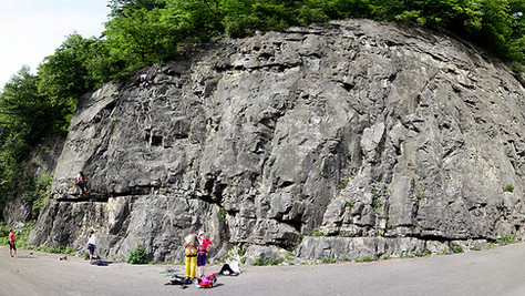 Klettergarten an der Ill, Feldkirch