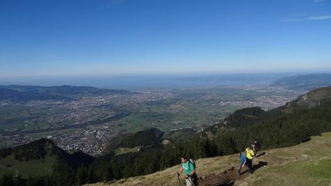 Hohe Kugel über Äuelegrat (1645 m)
