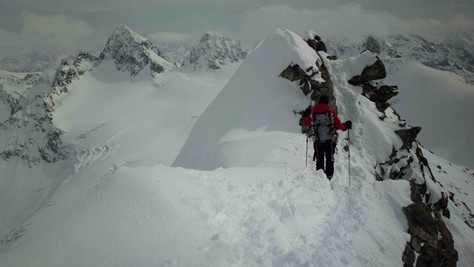 Schneeglocke (3223 m) – Silvrettahorn (3244 m)