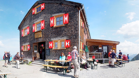 Wormser Hütte / Kreuzjoch / Grasjoch / St. Gallenkirch