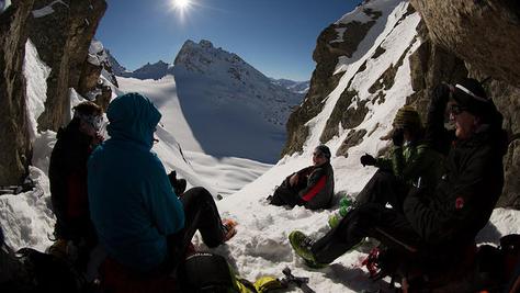 Kromerscharte (2800 m)