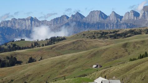 Tschuggen (1881 m) – Gonzen (1829 m)