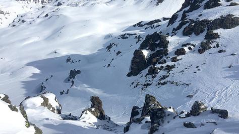 Totenfeldscharte – Totenfeldkopf (2935m)