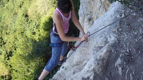 Kapf-Klettersteige (Via Kessi, Via Kapf)