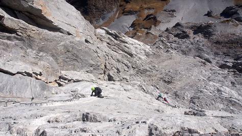 Klettersteig Sulzfluh Südwand