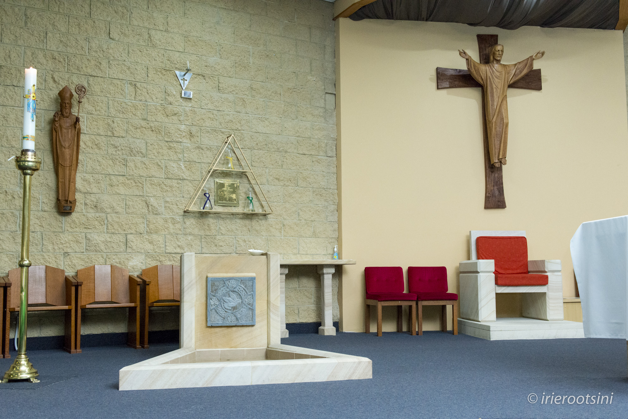 St. Patrick's Church Baptism Altar