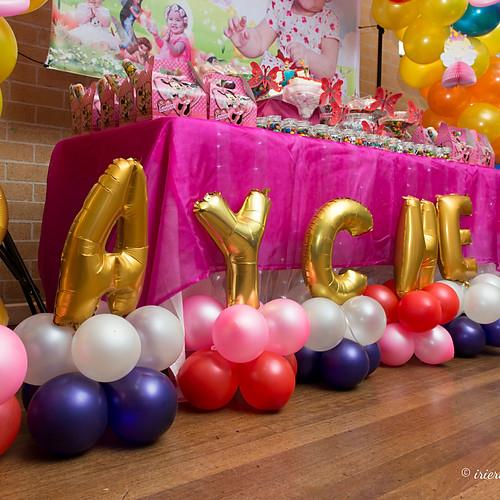 Raychelle's 1st Birthday