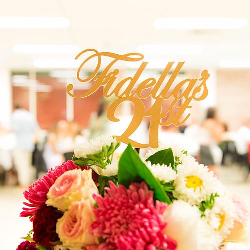 Fidella's 21st Birthday Celebration