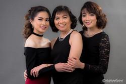 Studio-Photography-St-Clair-Daughters-Mother-Portrait