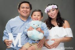 Photographer-Rooty-Hill-Pre-Maternity-Studio-Family-Portrait