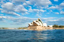 Sydney Opera House - Boat View