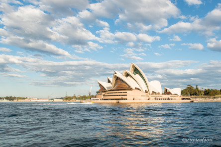 Sydney Opera House Approaching