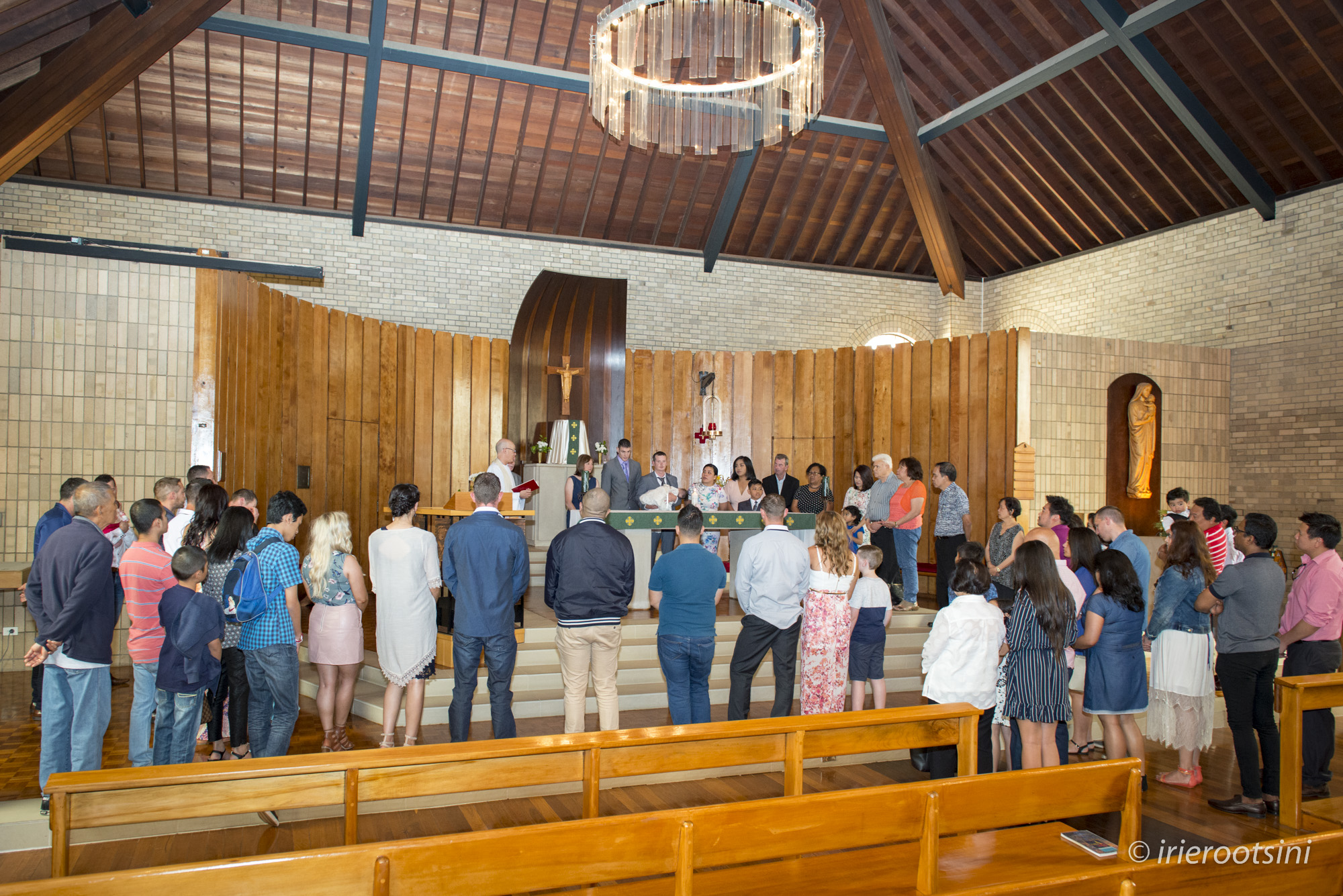 Wide Angle Shot at Our Lady Help of Christians Parish Church