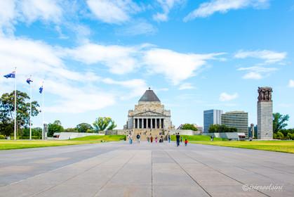 Shrine of Remembrance - Melbourne
