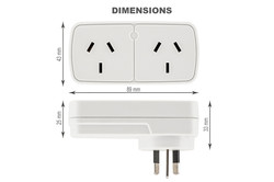 Amazon-Product-Photography-Liverpool-NSW-Dual-Outlet-Plugs