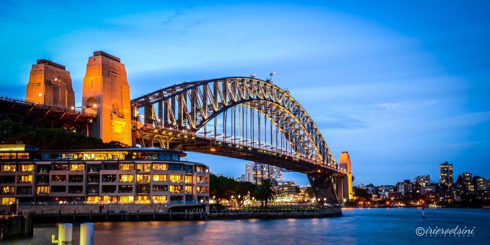 Harbour Bridge - Sydney Australia - Blue Hour
