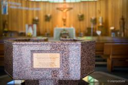 St. Aidan's Parish Baptism Font