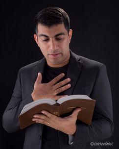 Preacher Headshot-Reading Pose