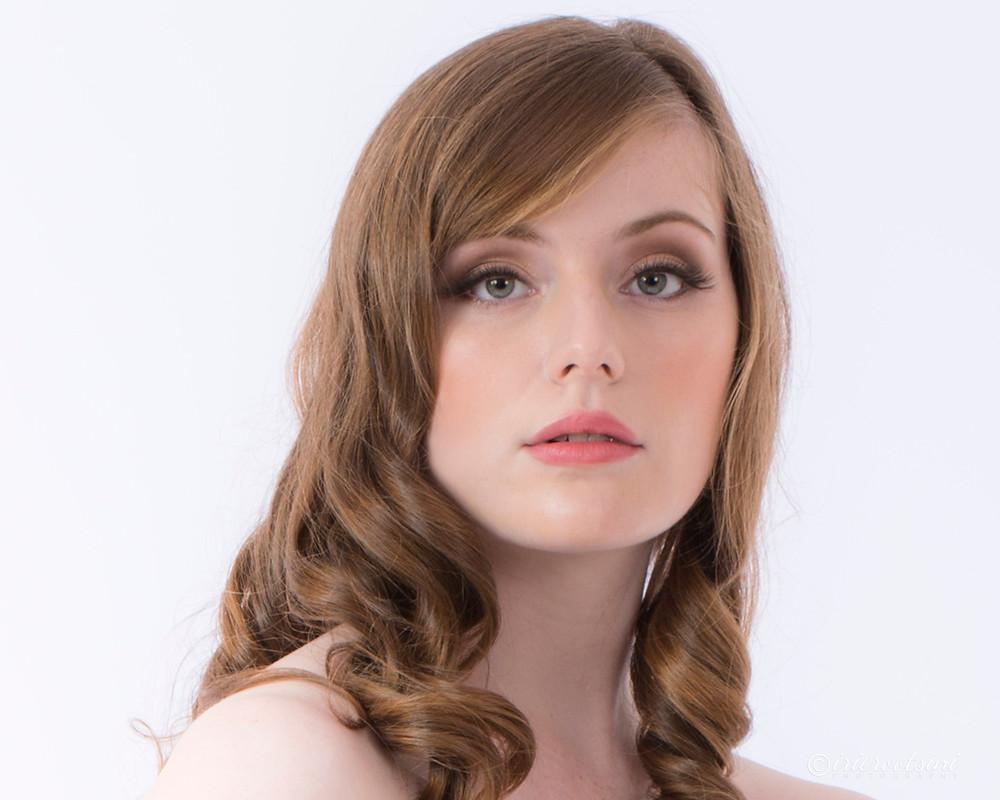 Models headshot in white background - Sydney