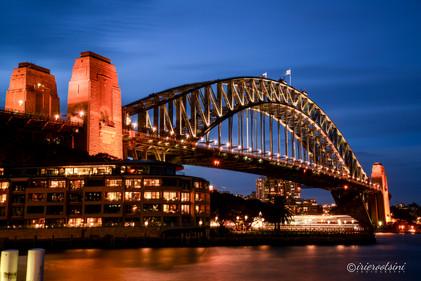 Harbor Bridge Blue Hour
