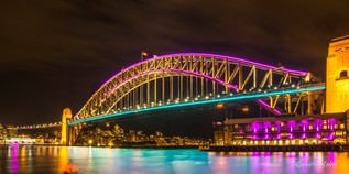 Harbour Bridge  - Vivid Sydney