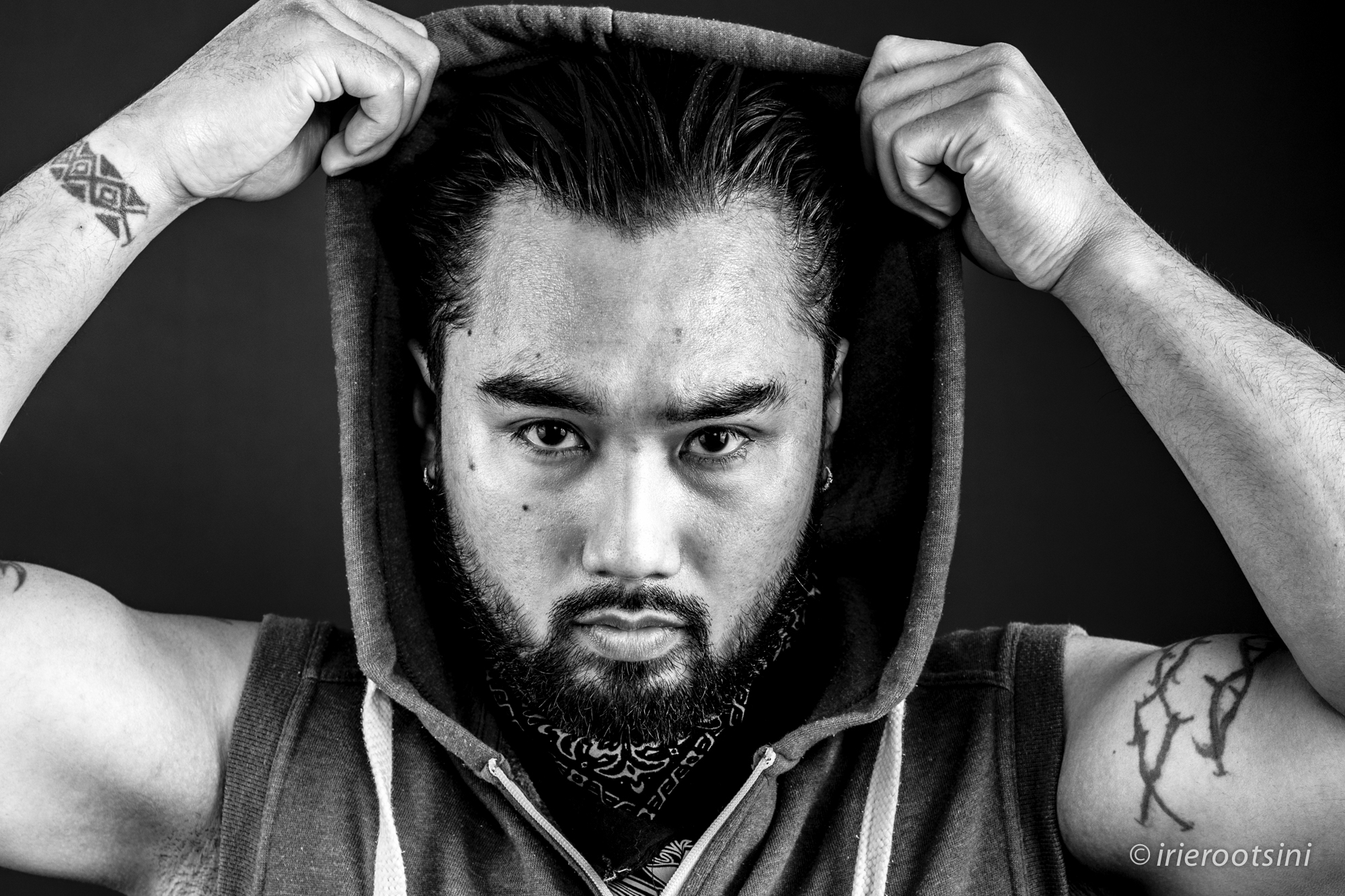 Black and White-Sydney Actor-Hoodie