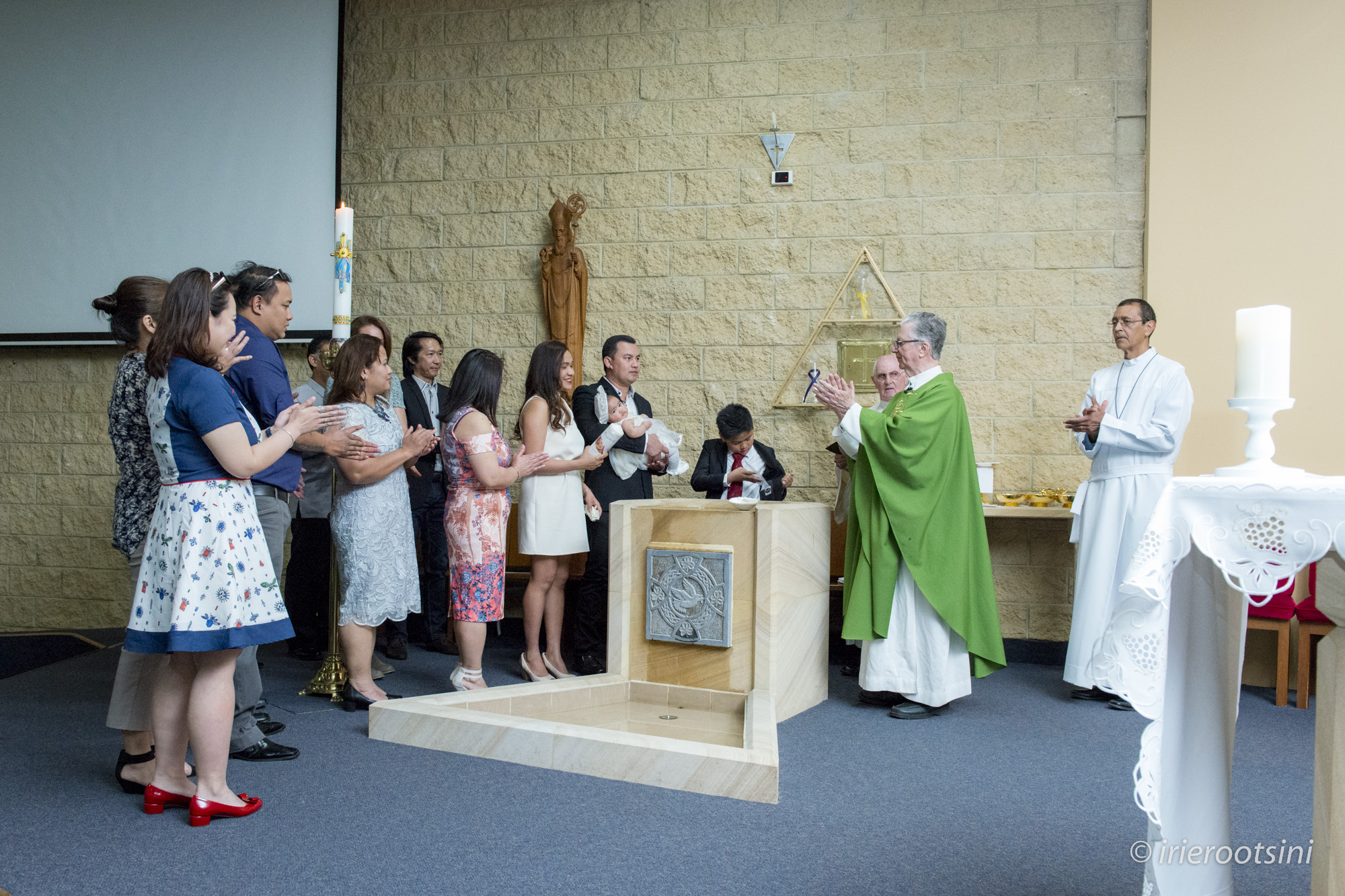 St. Patrick's Church Baptism Ceremony