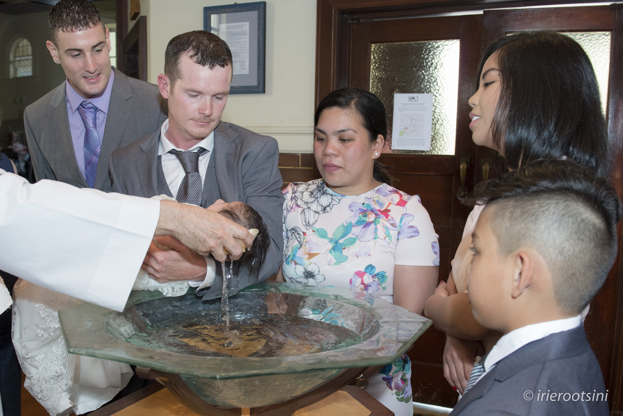 Baptism Photo at Our Lady Help of Christians Parish Church
