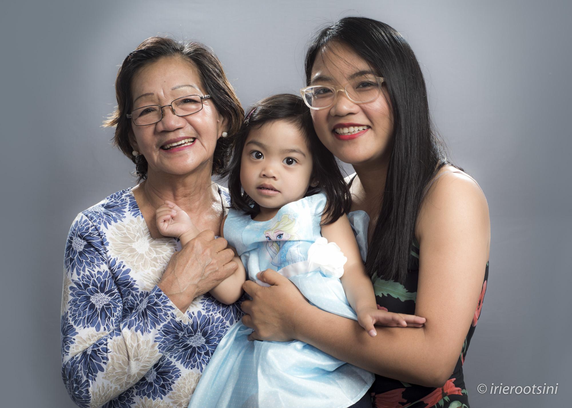 Mother-Daughter-Grand Daughter-Studio-Portrait