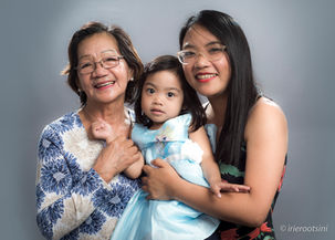 Mother-Daughter-Grand Daughter