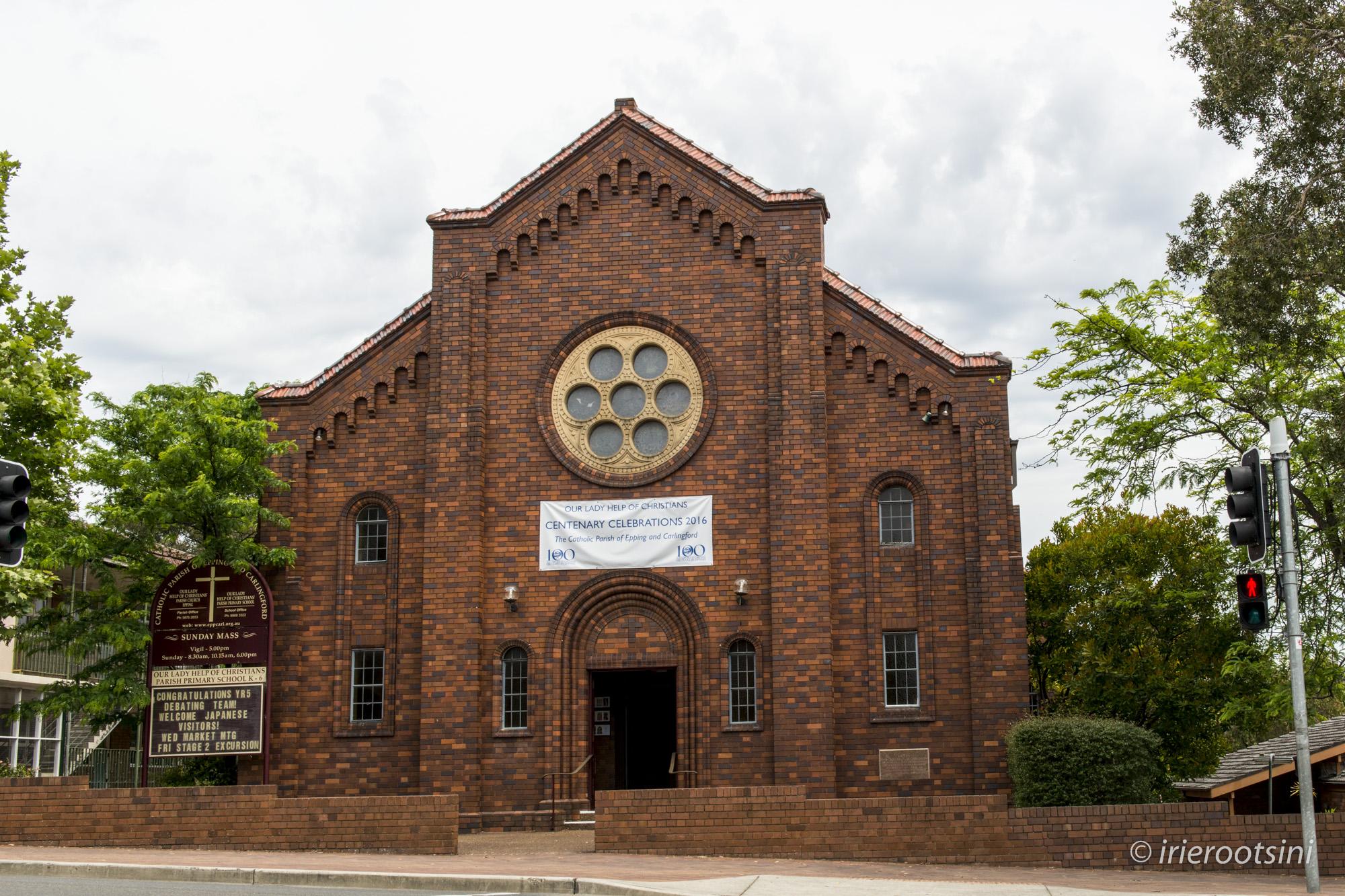 Our Lady Help of Christians Parish Church Facade