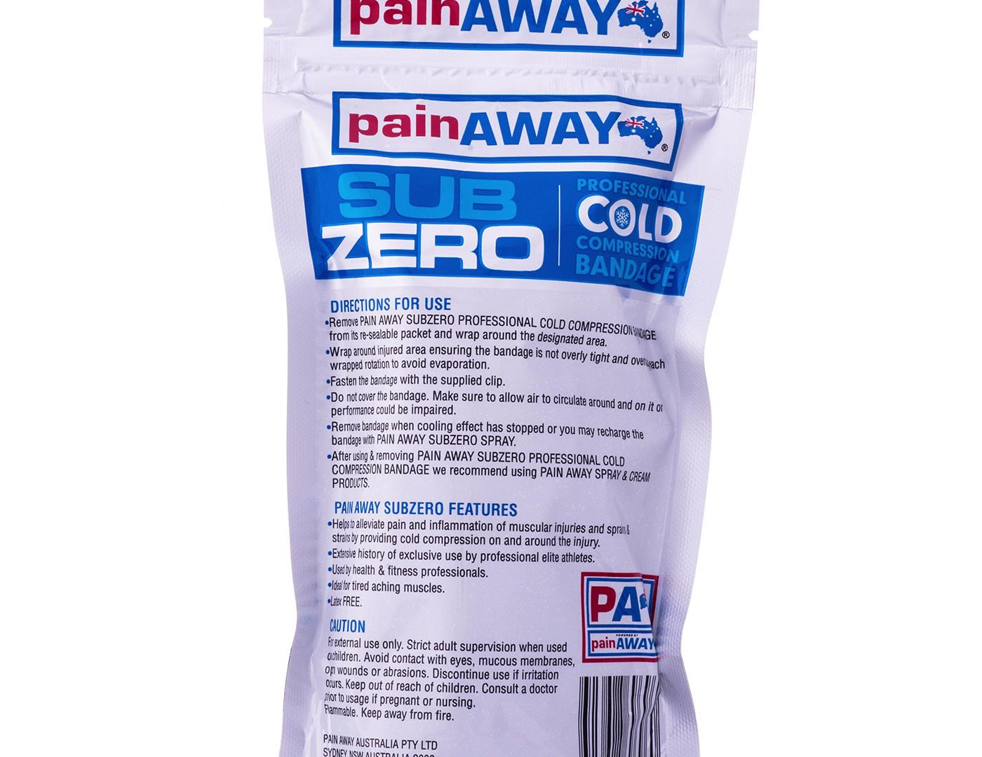 Pain Away SubZero Bandage 360 Video