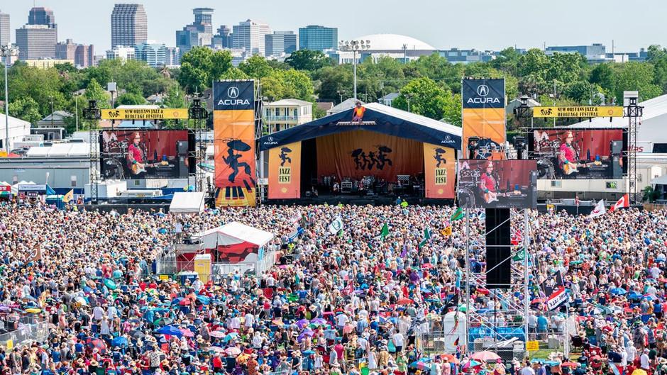 New Orleans Jazz Fest returns in October 2021