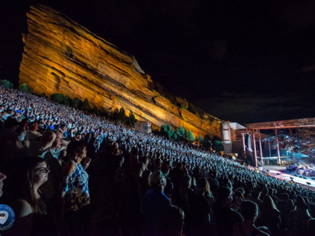 Red Rocks Shares 2021 Concert Schedule