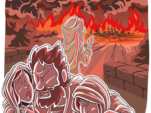 Did Meteorites Destroy Sodom & Gomorrah?