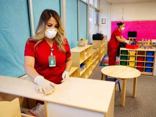 How to Clean Classrooms During Covid-19