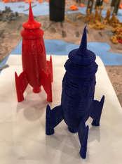 Mars Cargo Rockets