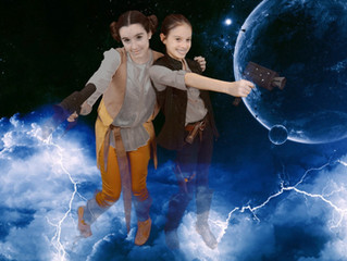 Han and Lea to the rescue!