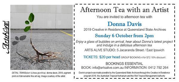 FINAL Afternoon Tea with an Artist DONNA